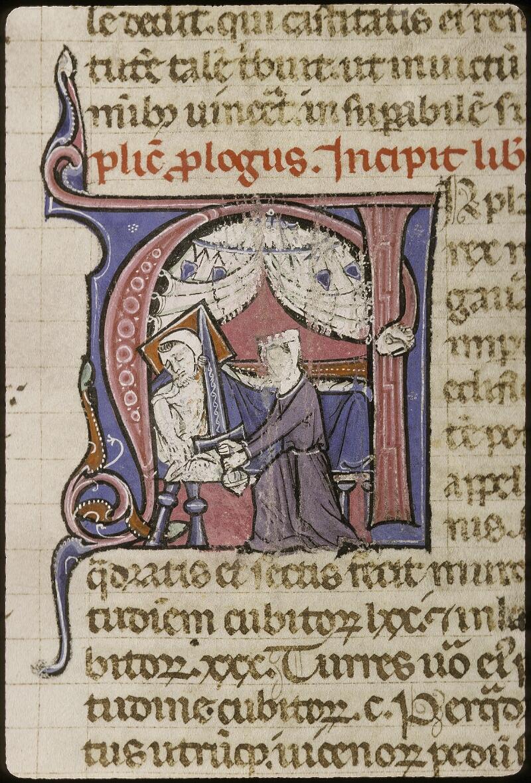 Lyon, Bibl. mun., ms. 0424, f. 199v - vue 2