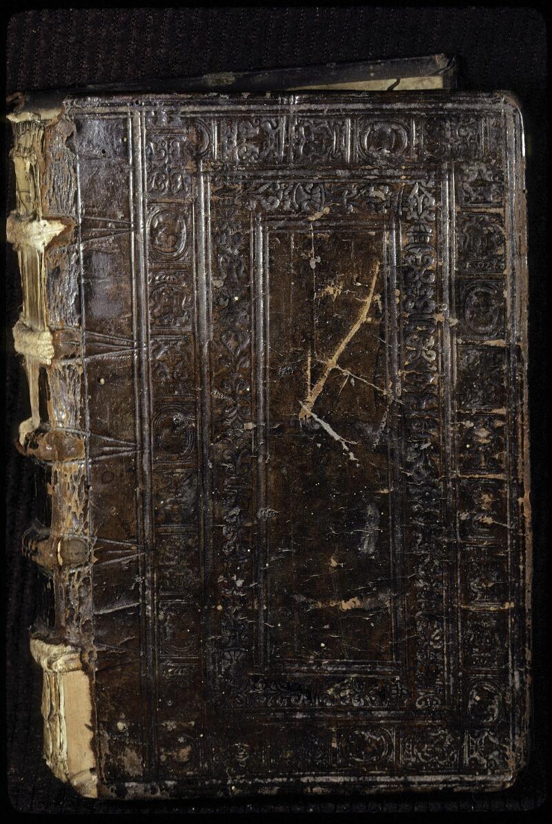Lyon, Bibl. mun., ms. 0428, reliure plat sup.