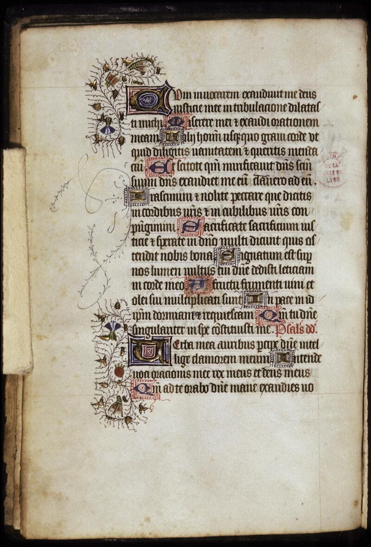 Lyon, Bibl. mun., ms. 0428, f. 001 bis v