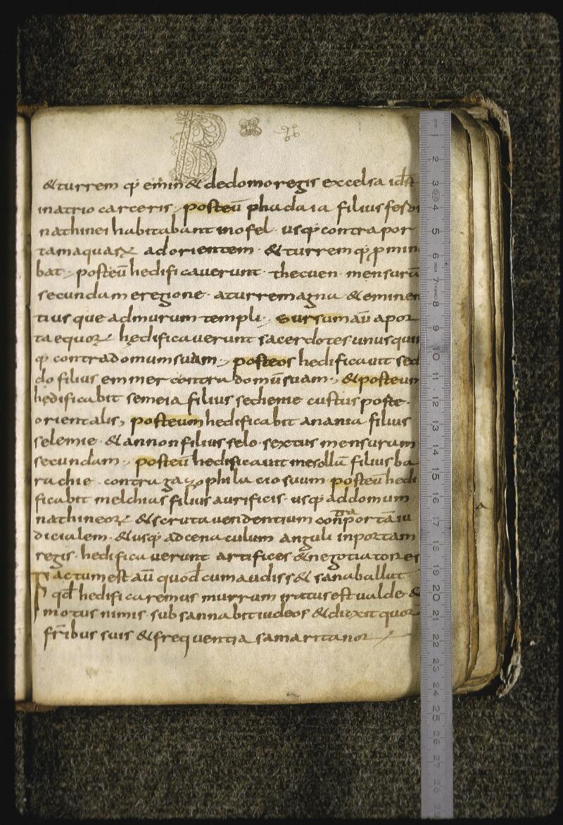 Lyon, Bibl. mun., ms. 0430, f. 022 - vue 1