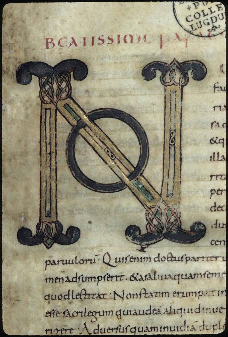 Lyon, Bibl. mun., ms. 0431, f. 001