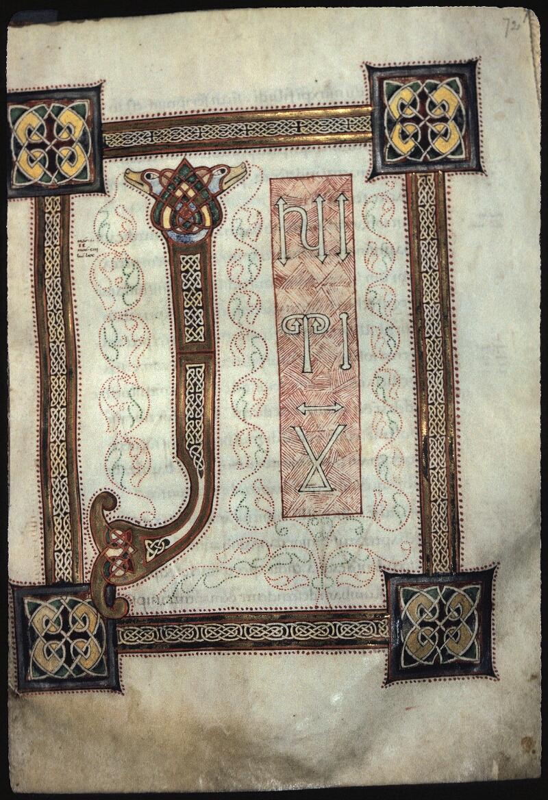 Lyon, Bibl. mun., ms. 0431, f. 072 - vue 1