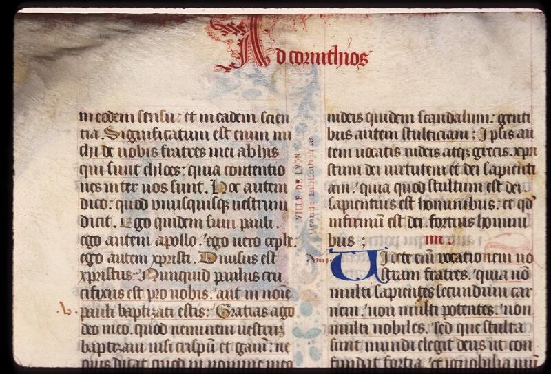 Lyon, Bibl. mun., ms. 0432, f. 001v