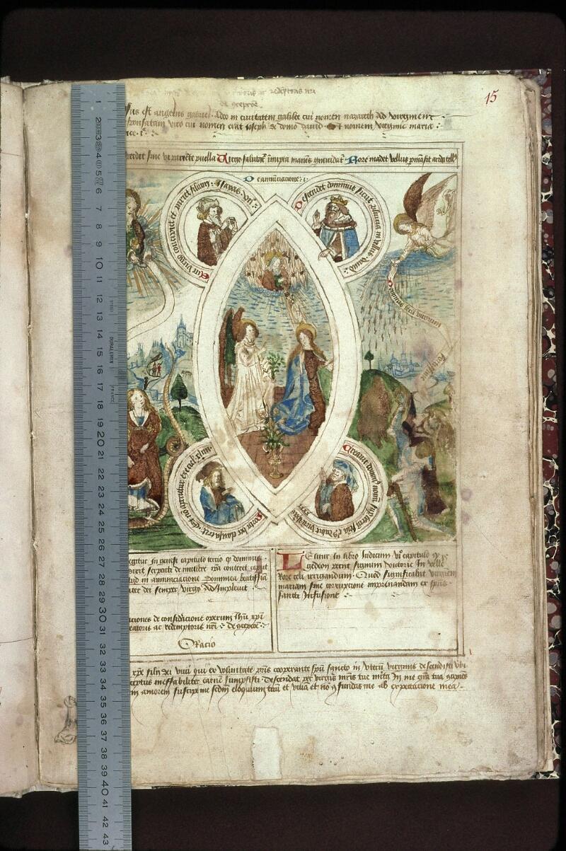 Lyon, Bibl. mun., ms. 0446, f. 015 - vue 1