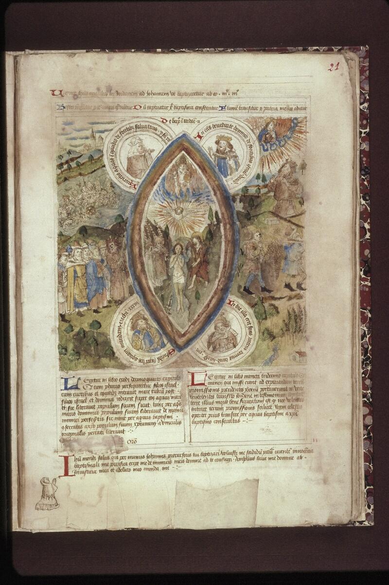 Lyon, Bibl. mun., ms. 0446, f. 021 - vue 1