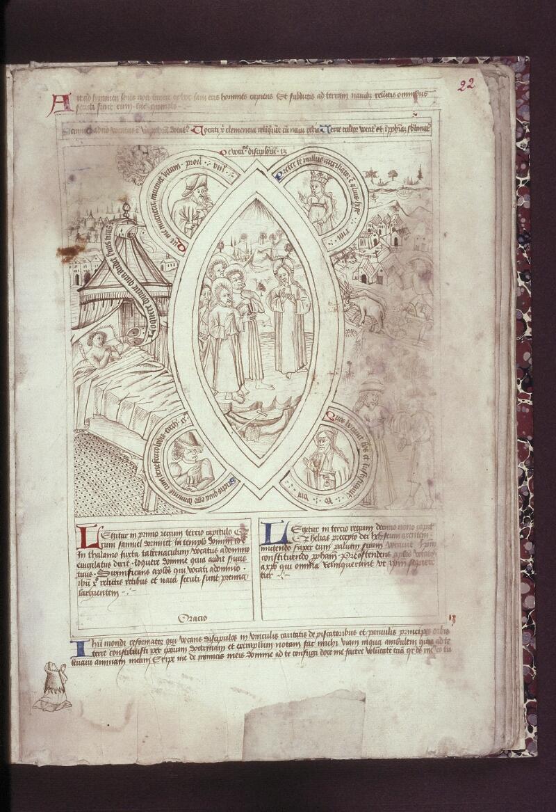 Lyon, Bibl. mun., ms. 0446, f. 022 - vue 1