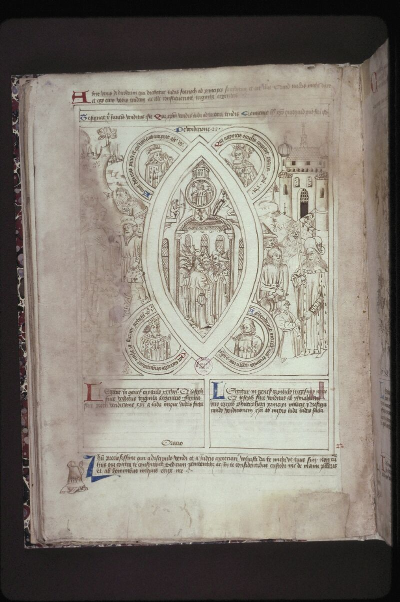 Lyon, Bibl. mun., ms. 0446, f. 027v - vue 1