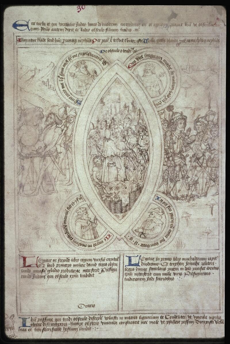 Lyon, Bibl. mun., ms. 0446, f. 030 - vue 2