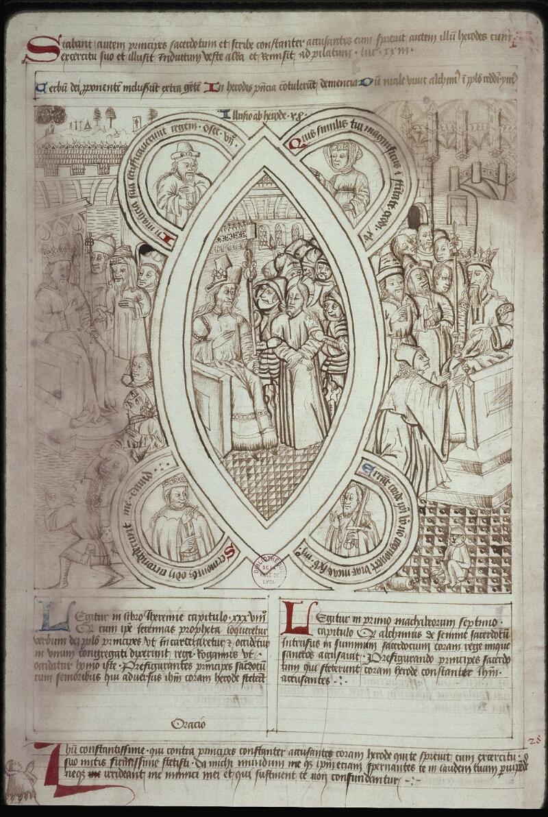 Lyon, Bibl. mun., ms. 0446, f. 031v - vue 2