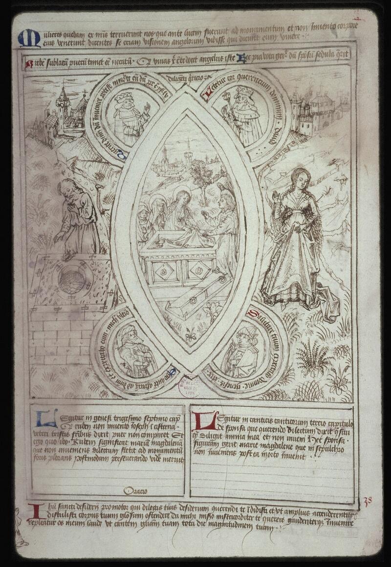 Lyon, Bibl. mun., ms. 0446, f. 037v - vue 2