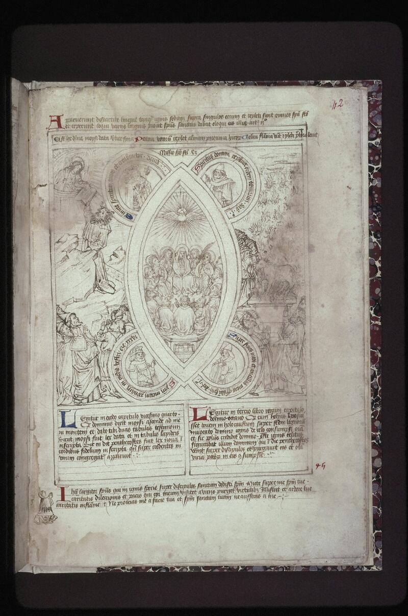 Lyon, Bibl. mun., ms. 0446, f. 042 - vue 1