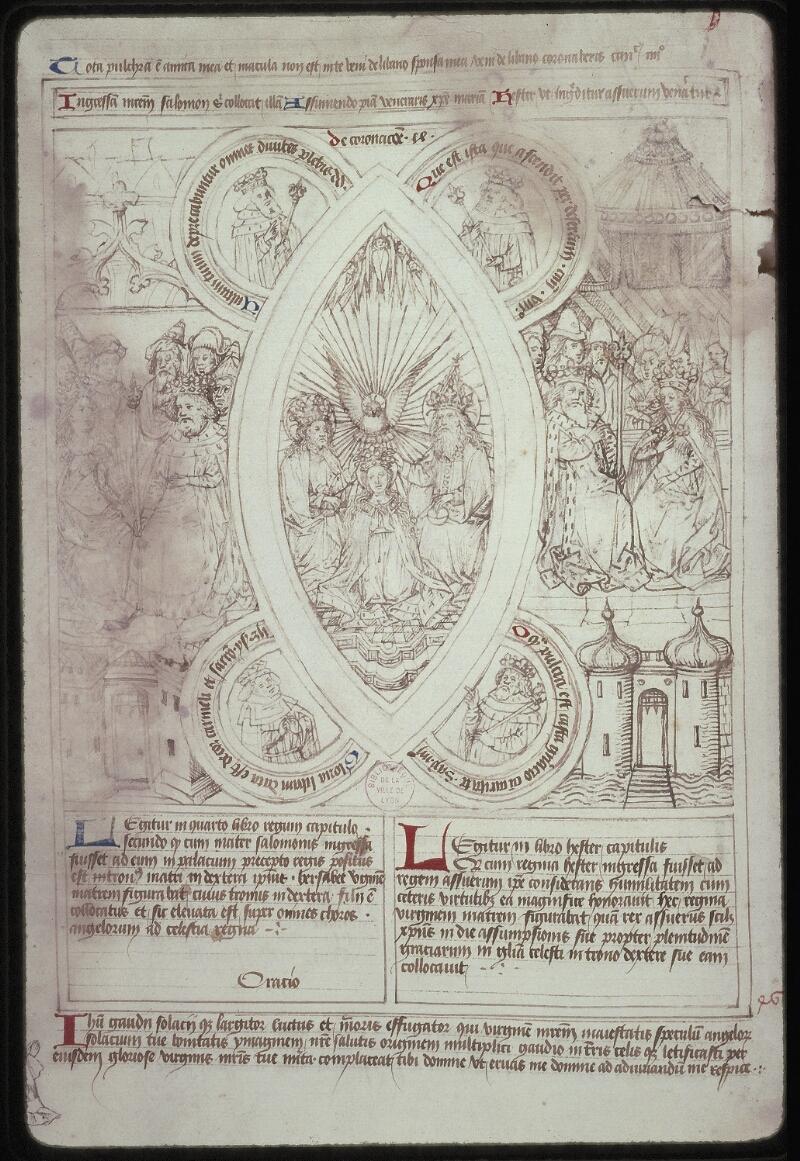 Lyon, Bibl. mun., ms. 0446, f. 042v - vue 2