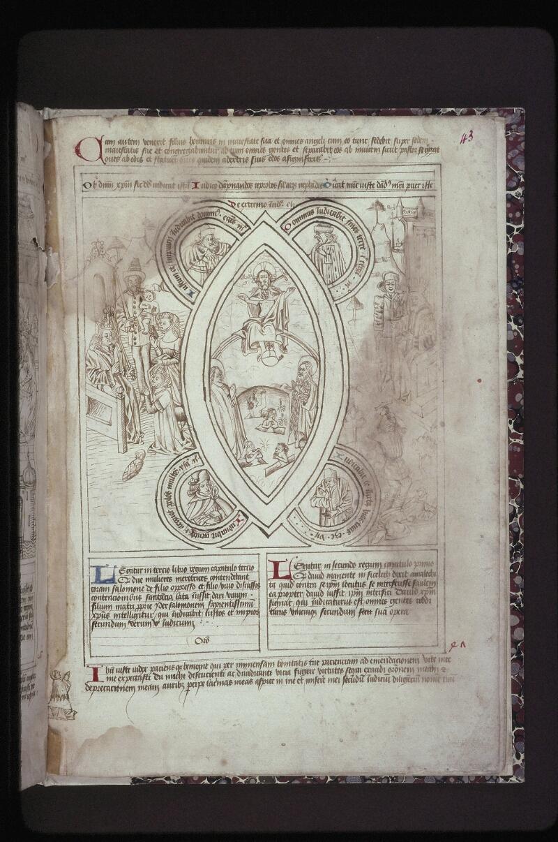 Lyon, Bibl. mun., ms. 0446, f. 043 - vue 1