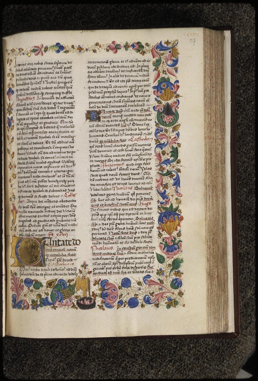 Lyon, Bibl. mun., ms. 0455, f. 217 - vue 1
