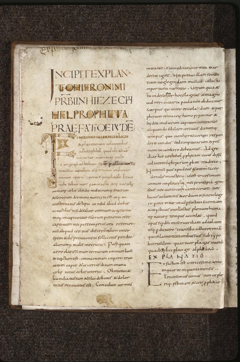 Lyon, Bibl. mun., ms. 0467, f. 001v - vue 2