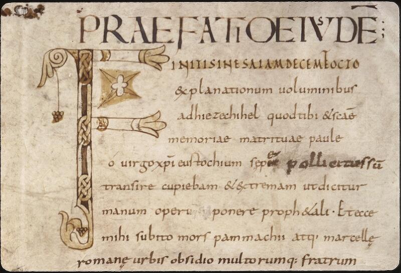 Lyon, Bibl. mun., ms. 0467, f. 001v - vue 3
