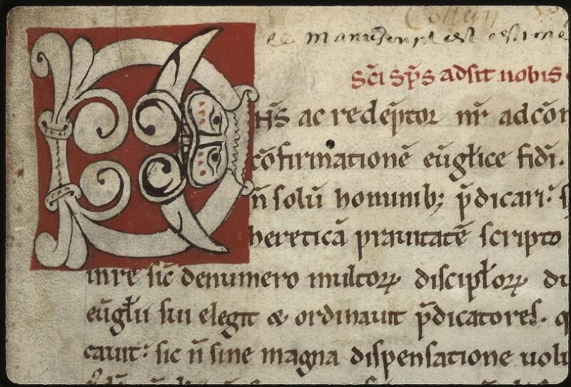 Lyon, Bibl. mun., ms. 0480, f. 001 - vue 3