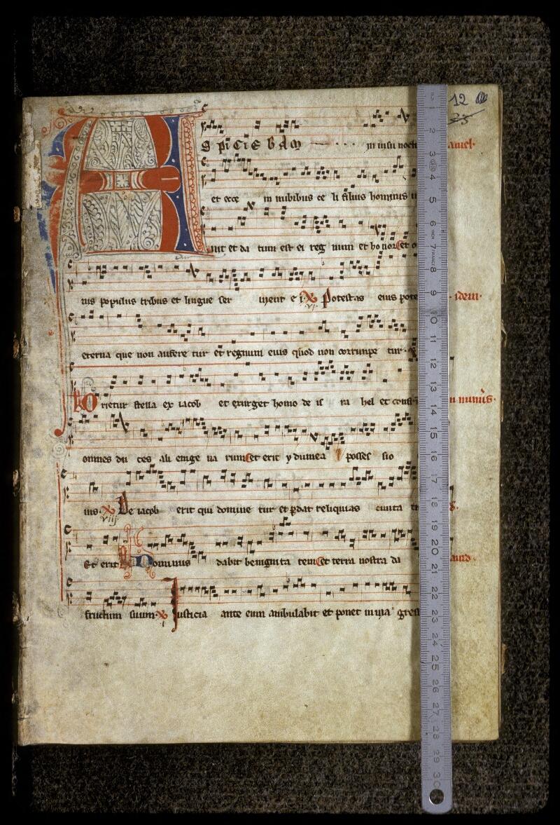 Lyon, Bibl. mun., ms. 0509, f. 012 - vue 1