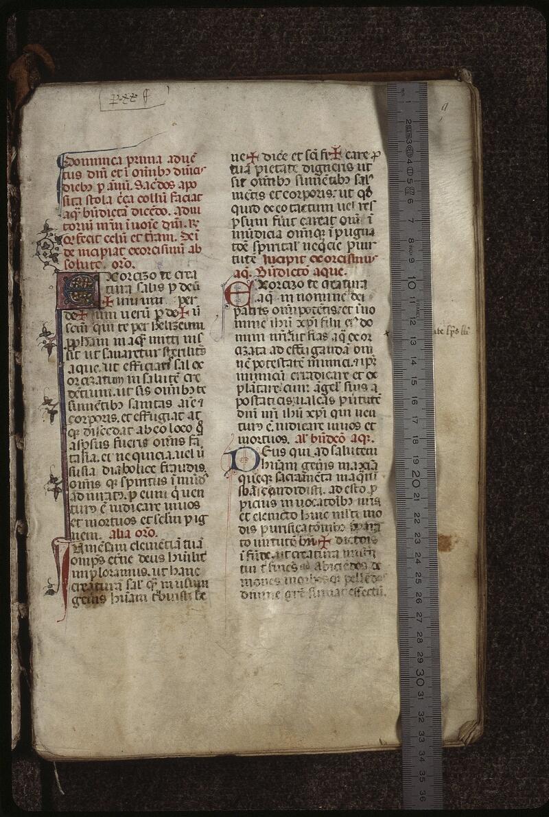 Lyon, Bibl. mun., ms. 0512, f. 009 - vue 1