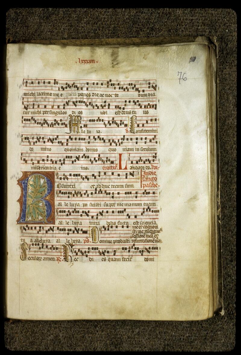 Lyon, Bibl. mun., ms. 0513, f. 076 - vue 1
