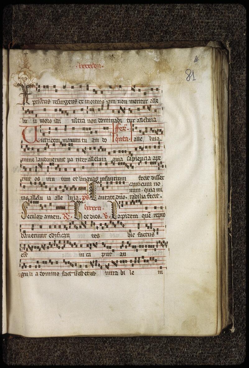 Lyon, Bibl. mun., ms. 0513, f. 081 - vue 1