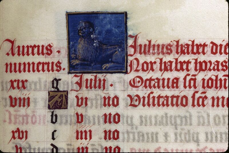 Lyon, Bibl. mun., ms. 0514, f. 004 - vue 1