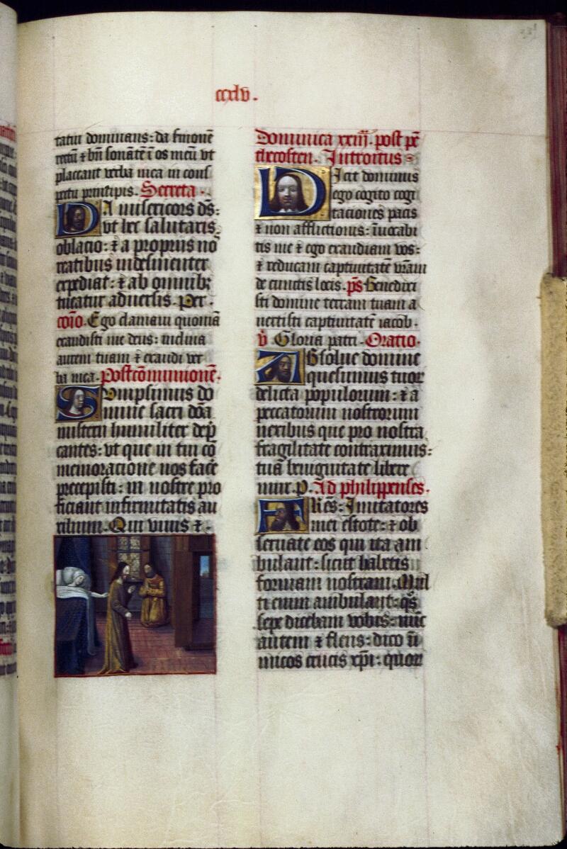 Lyon, Bibl. mun., ms. 0514, f. 249 - vue 1