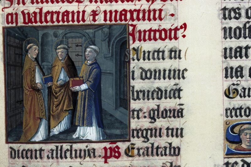 Lyon, Bibl. mun., ms. 0514, f. 271 - vue 1