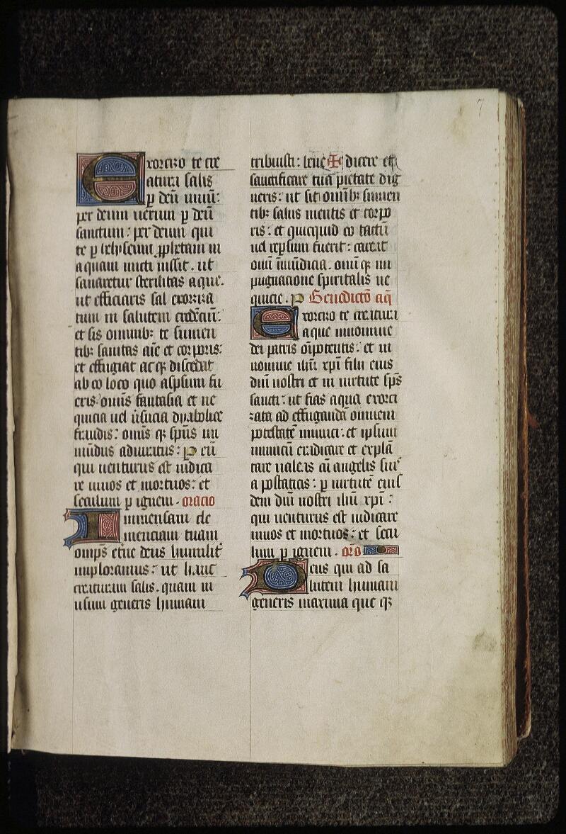 Lyon, Bibl. mun., ms. 0515, f. 007 - vue 2