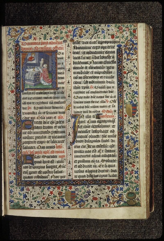 Lyon, Bibl. mun., ms. 0515, f. 011 - vue 1