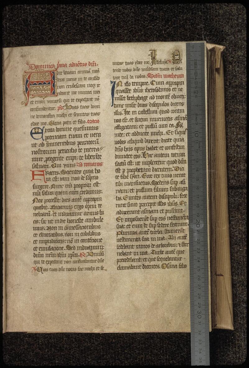 Lyon, Bibl. mun., ms. 0516, f. 007 - vue 1