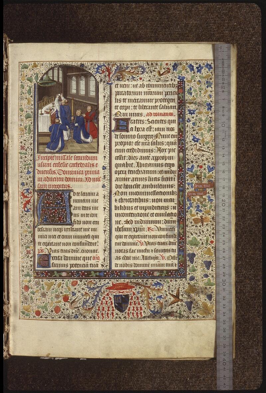 Lyon, Bibl. mun., ms. 0517, f. 008 - vue 1