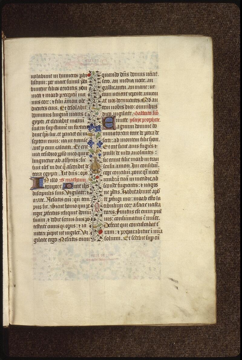 Lyon, Bibl. mun., ms. 0517, f. 010 - vue 1