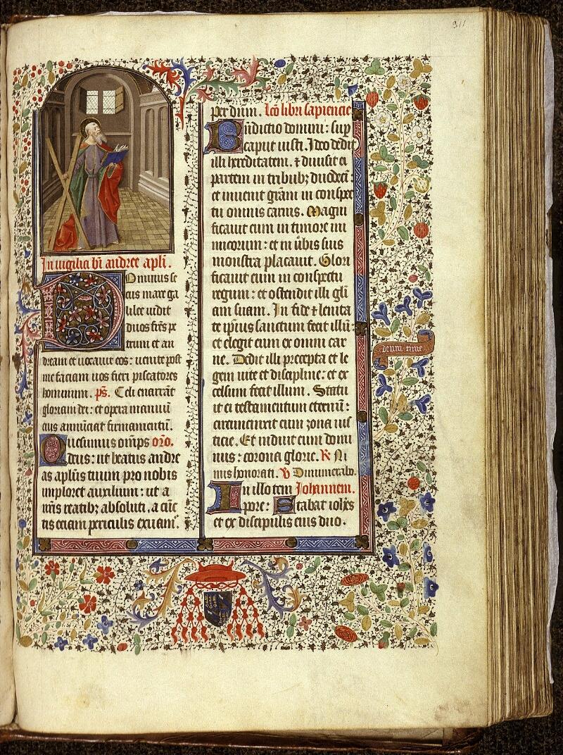 Lyon, Bibl. mun., ms. 0517, f. 311 - vue 1