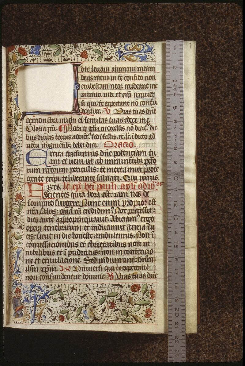 Lyon, Bibl. mun., ms. 0518, f. 007 - vue 1