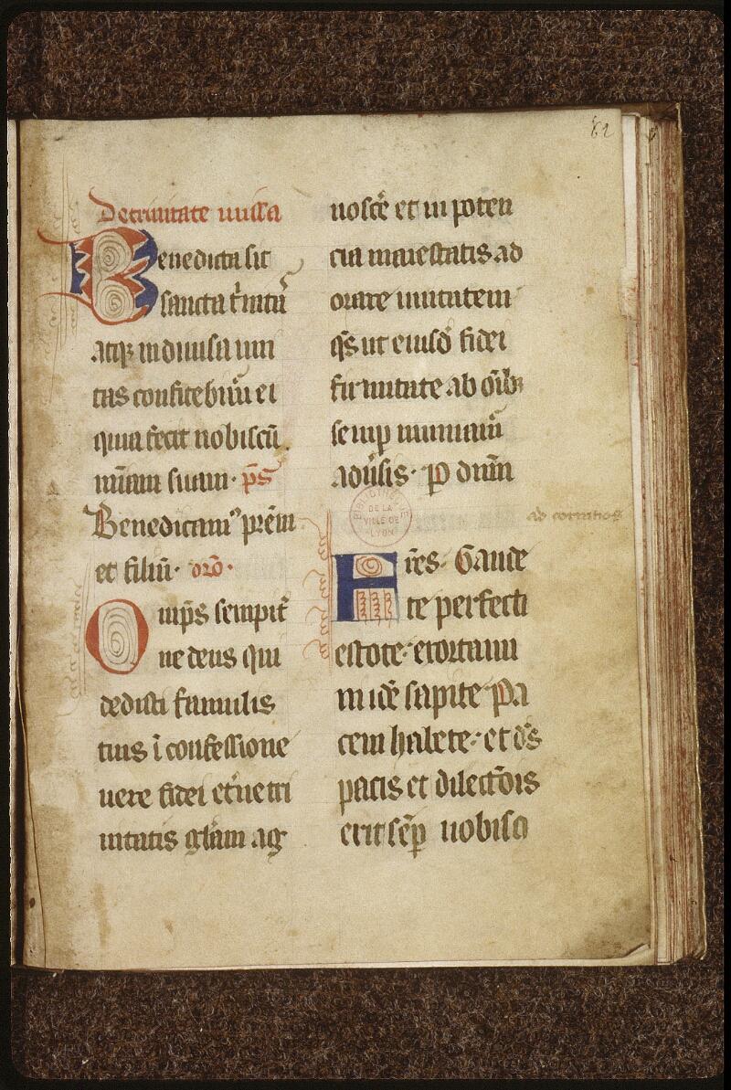 Lyon, Bibl. mun., ms. 0519, f. 062