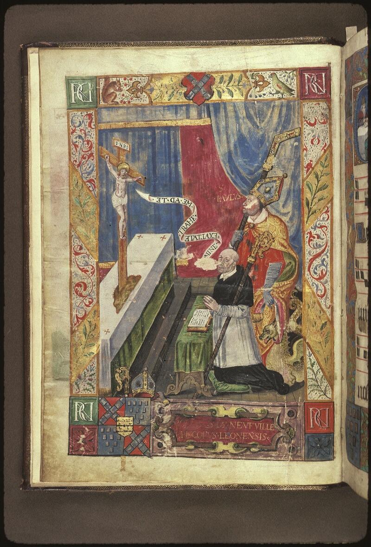 Lyon, Bibl. mun., ms. 0521, f. 001v - vue 1
