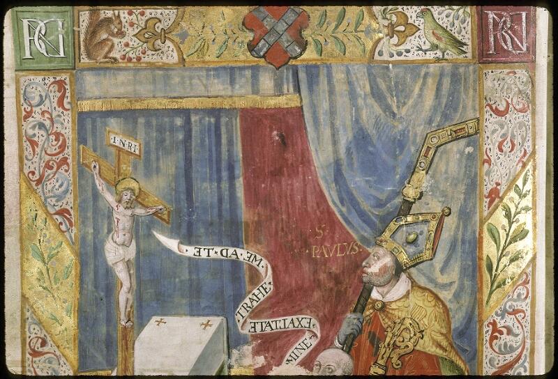 Lyon, Bibl. mun., ms. 0521, f. 001v - vue 2