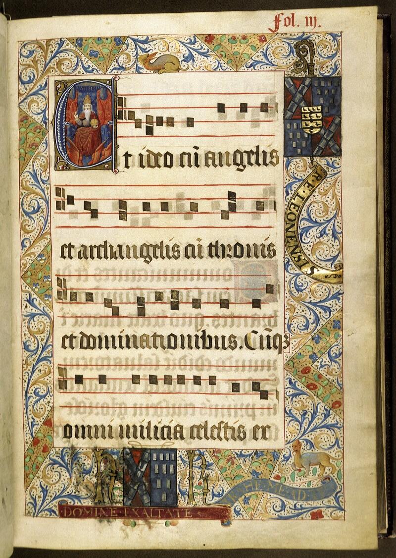 Lyon, Bibl. mun., ms. 0521, f. 003 - vue 1
