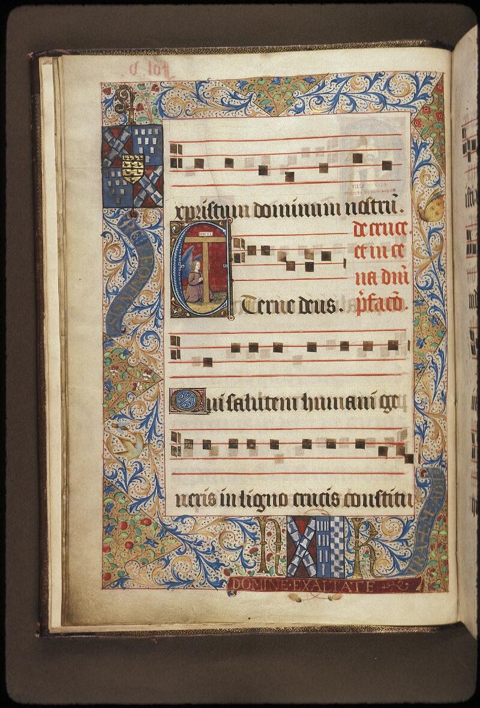 Lyon, Bibl. mun., ms. 0521, f. 005v - vue 1