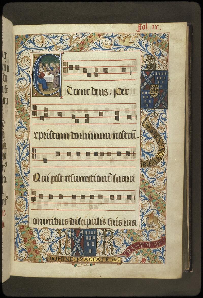 Lyon, Bibl. mun., ms. 0521, f. 009 - vue 1