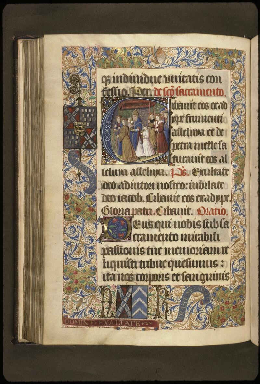 Lyon, Bibl. mun., ms. 0521, f. 115v - vue 1