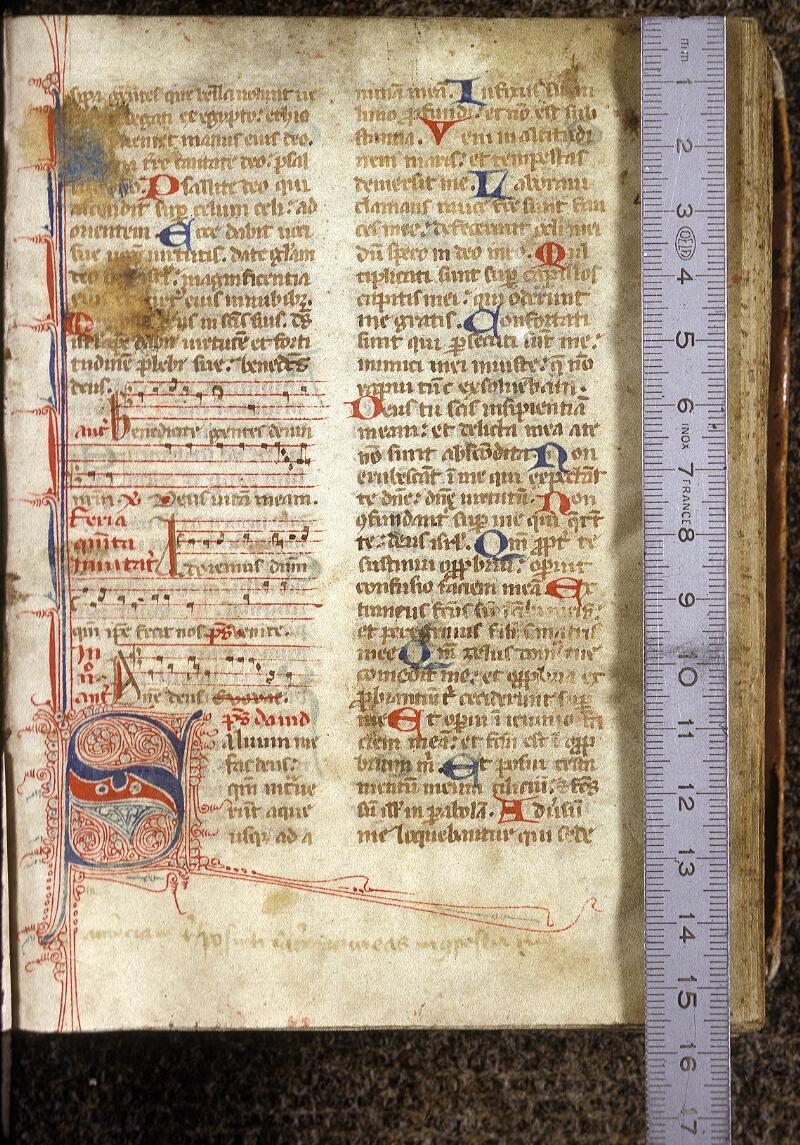 Lyon, Bibl. mun., ms. 0524, f. 002 - vue 1