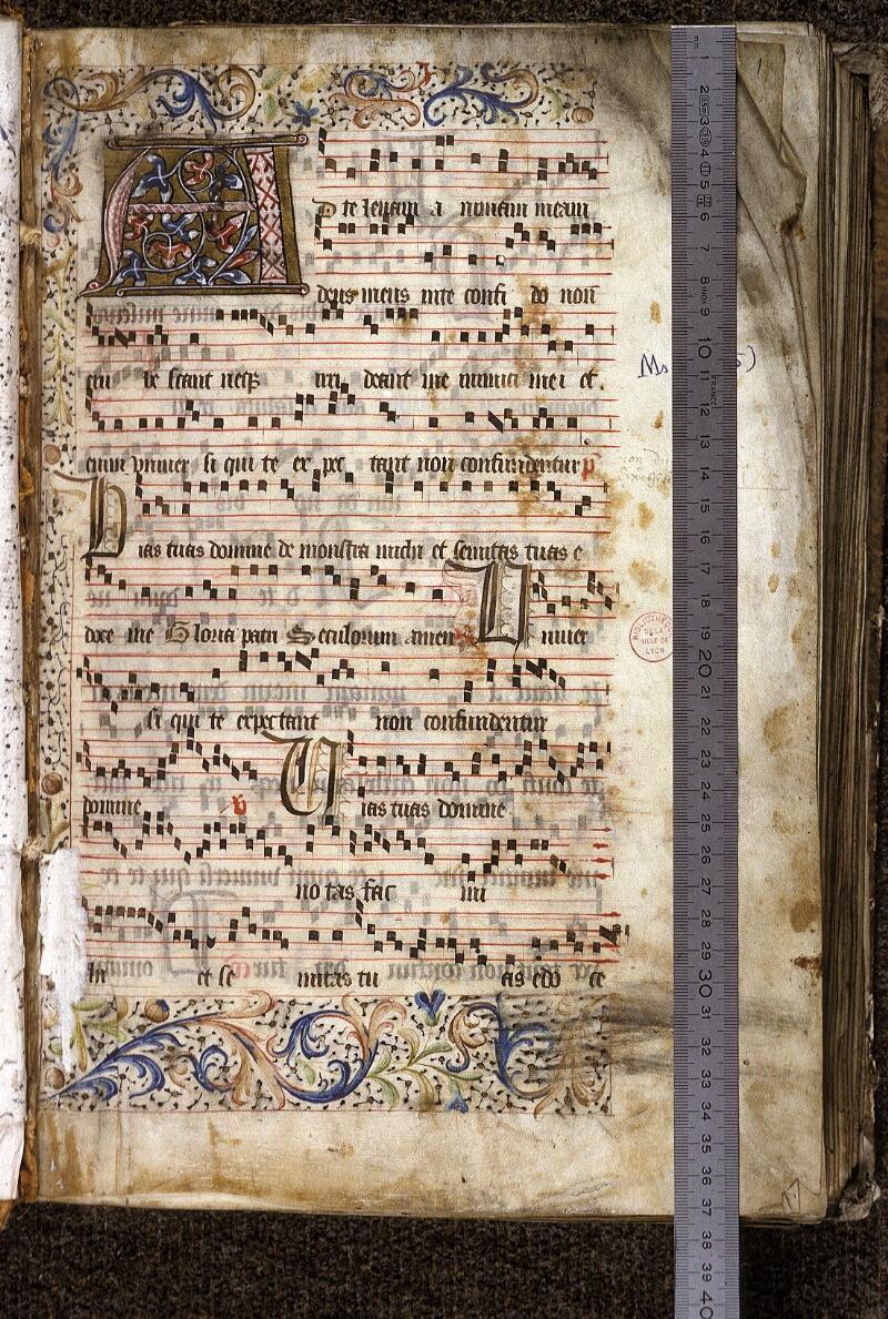Lyon, Bibl. mun., ms. 0525, f. 001 - vue 1