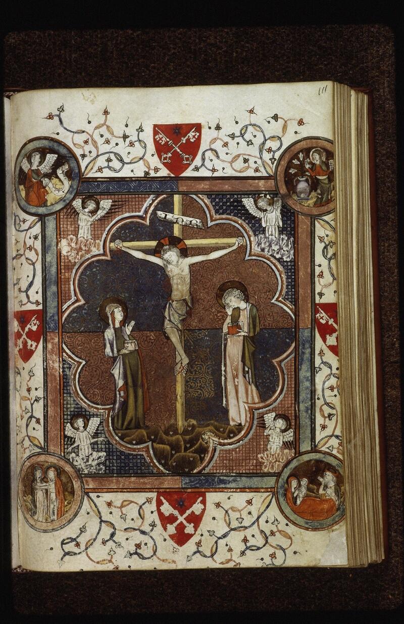 Lyon, Bibl. mun., ms. 0526, f. 111 - vue 1