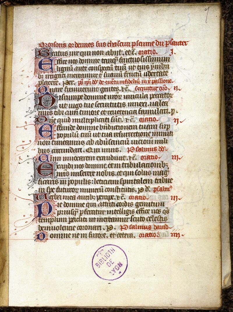 Lyon, Bibl. mun., ms. 0538, f. 007 - vue 2