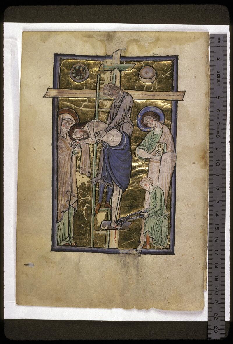 Lyon, Bibl. mun., ms. 0539, f. 001v - vue 1