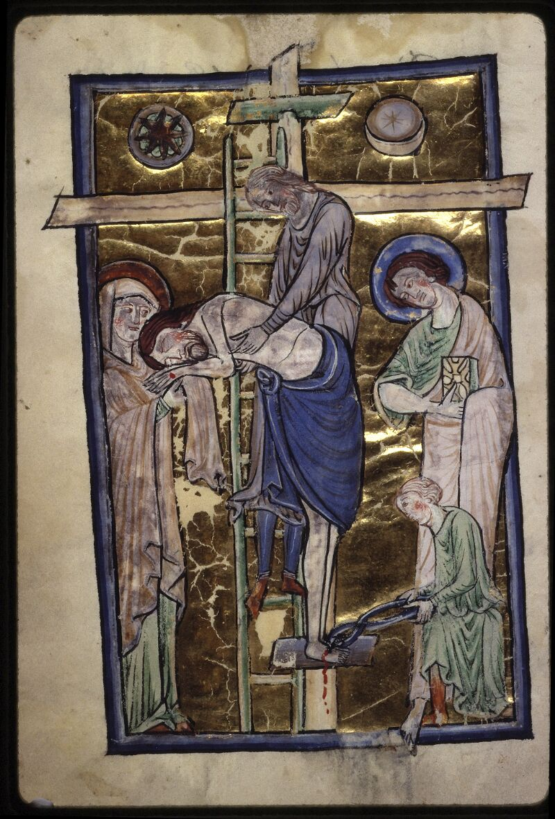 Lyon, Bibl. mun., ms. 0539, f. 001v - vue 3
