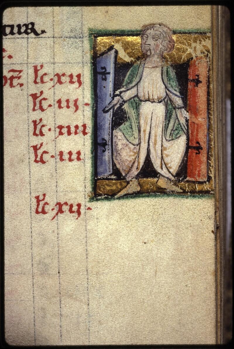Lyon, Bibl. mun., ms. 0539, f. 002 - vue 2