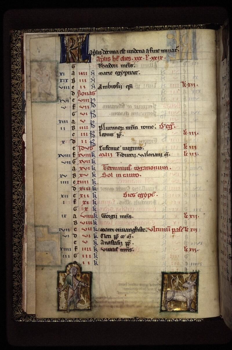 Lyon, Bibl. mun., ms. 0539, f. 003v - vue 1